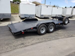 Pre-Owned TexBrag CarHauler - Passenger side rear 3/4 view