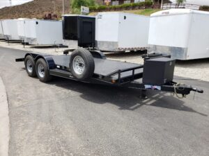 Pre-Owned TexBrag CarHauler - Passenger side front 3/4 view