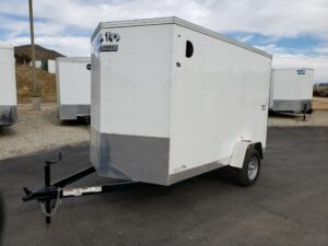 Big10 6x10 V-Nose D/D - Driver side front 3/4 view