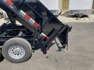 Snake River 7x12 Dump 2ft/SG - Shows spreader gate feature