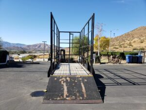 Pre-Owned Apache Utility - Rear view ramp down