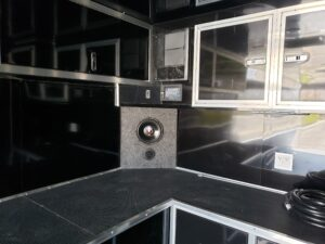 Looking at cabinets, stereo and sub-woofer